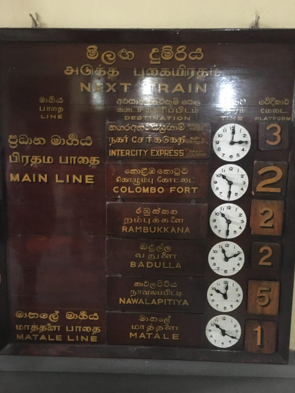 006 – Sri Lanka. Mit dem Zug nach Hatton und weiter mit dem Bus zum Adams Peak