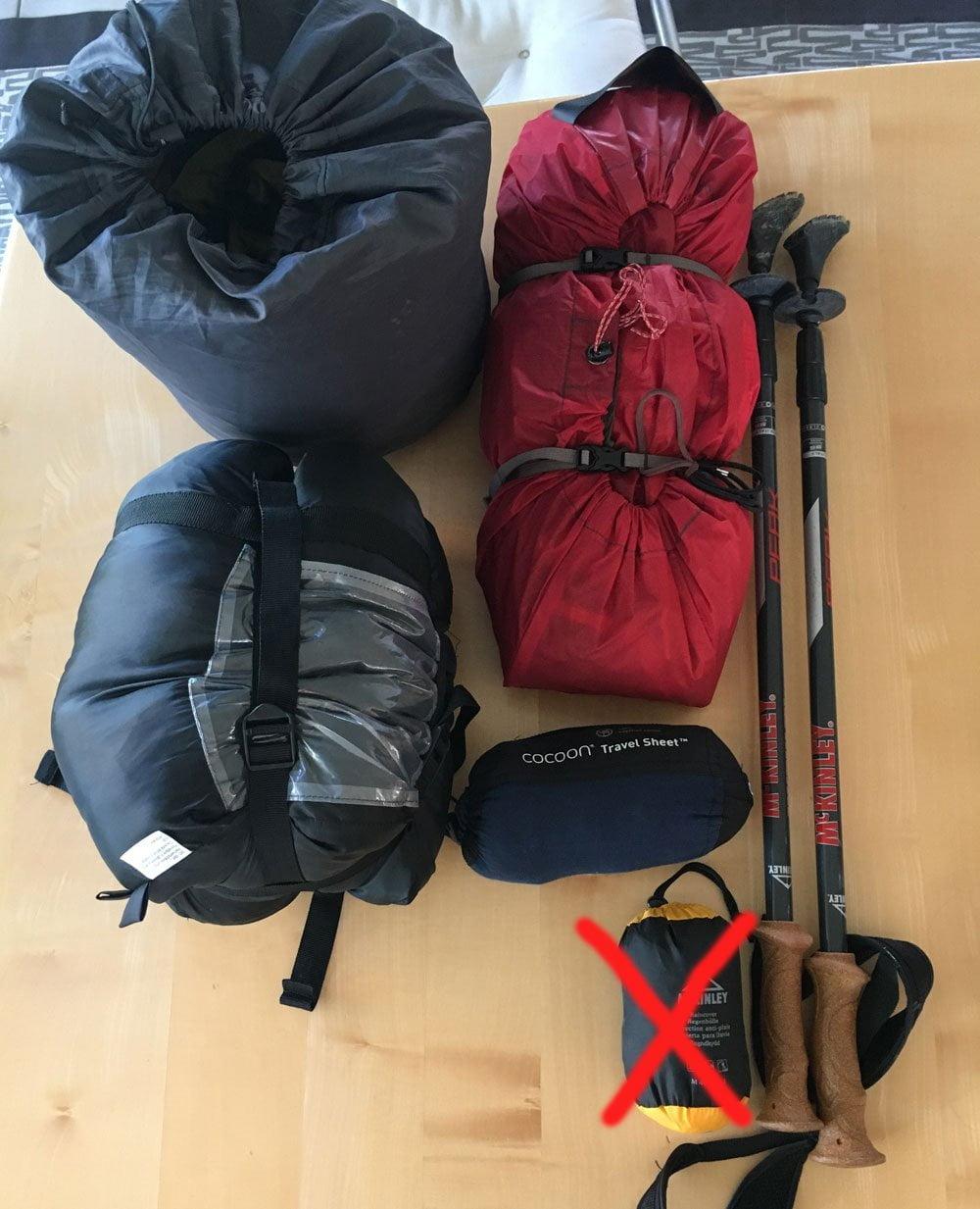 Mein Abenteuer Alpenüberquerung – Packliste