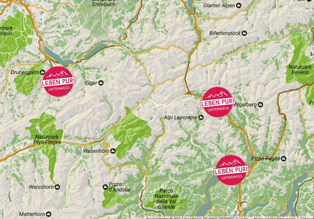 Alpenüberquerung – Mein Weg und die aktuelle Route