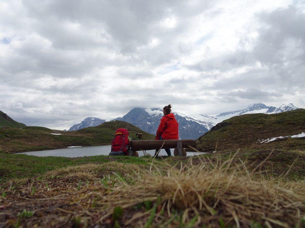 046 – Mein Abenteuer Alpenüberquerung – Regenwetter und wunderschöner Bachalpsee