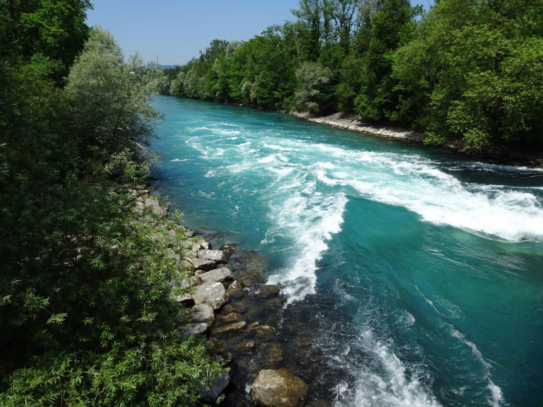 052 – Mein Abenteuer Alpenüberquerung – endlich an der Aare. Von Blumenstein über Uttigen nach Münsigen