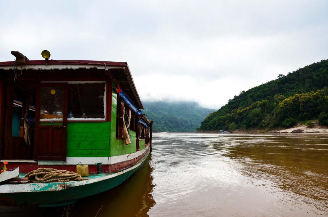 078 – Abenteuer Laos – 2 Tage Mekong-Bootsfahrt